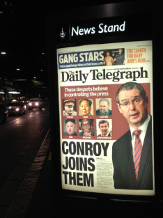conroy joins them daily telegraph