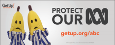 Get Up Protect our ABC outdoor