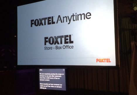 Foxtel Anytime announcement