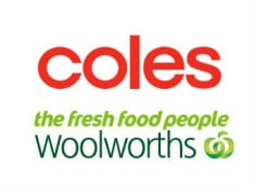 Coles Woolworths