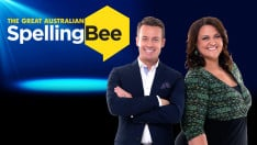 Grant Denyer and Chrissie Swann are hosting Ten's spelling competition
