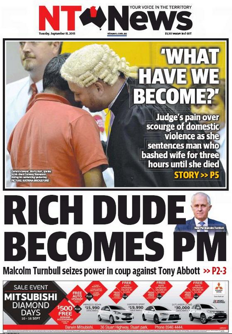 NT News Cheeky See You In The NT? Early Front Runner For