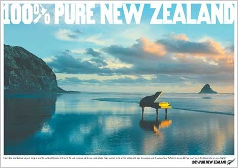 100% New Zealand: focus on purity and adventure