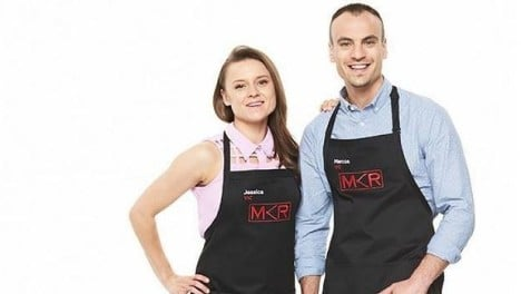 Unpopular duo Jessica and Marcos' turn in the kitchen provided MKR with a ratings boost
