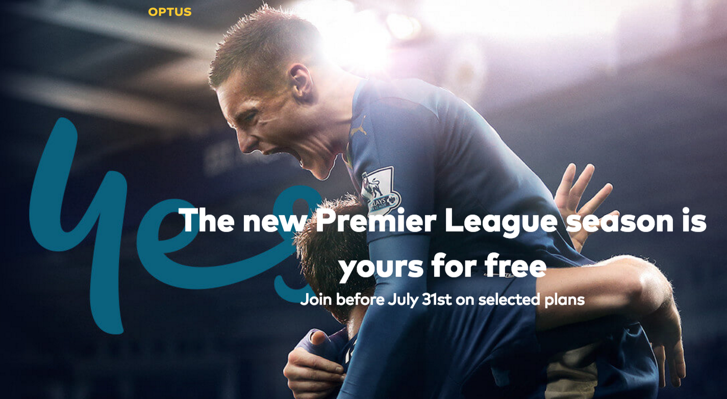 Optus signing up advertisers as it reveals its EPL app and