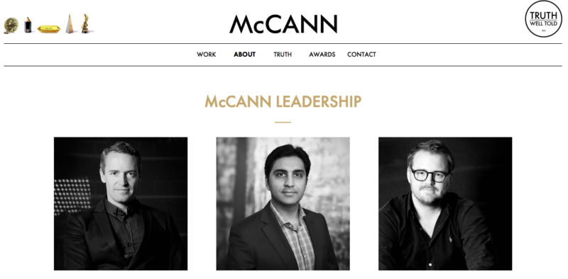 McCann's website