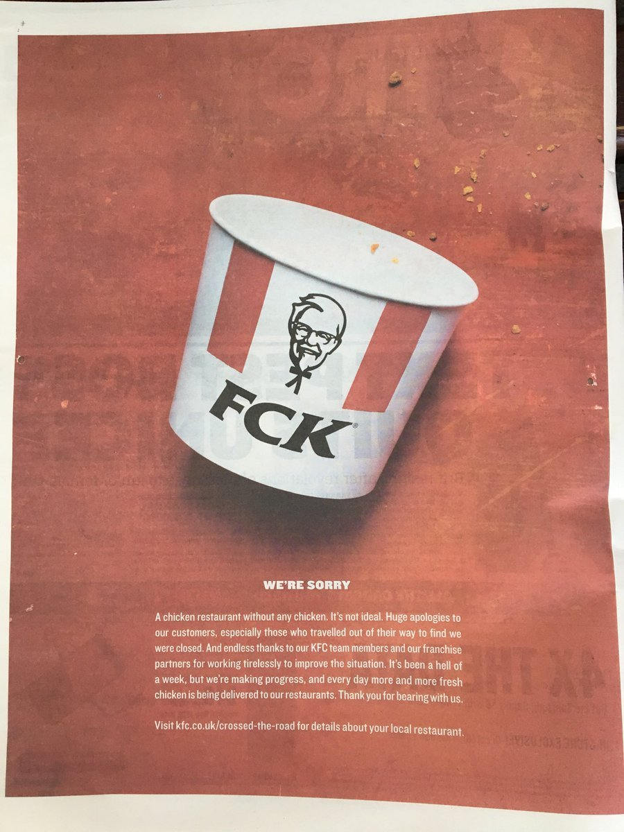 20776a51959 What KFC taught us about crisis management
